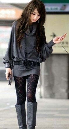 This kinda looks like a fall outfit, right when its getting cool but not yet cold lol