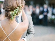 flower decoration? - photo by Braedon Photography http://ruffledblog.com/camping-wedding-at-half-moon-bay