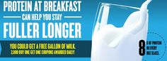 Enter to Win a Free Gallon of Milk | 2,000 Winners Daily! on http://www.moneysavingmadness.com
