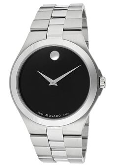 Price:$499.00 #watches Movado 606555, Designed to always tell time with precision and elegance, this Movado timepiece is a fashionable addition to any men's wardrobe.