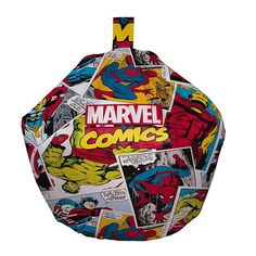 Marvel Comics Justice League Bean Bag Featuring The Members