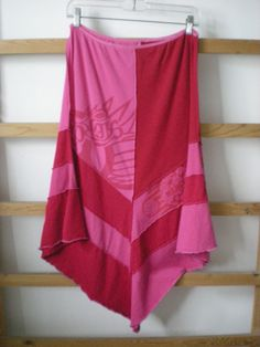 Recycled T-Shirt Skirt | another t shirt skirt similar to one i have made already but in shades ...