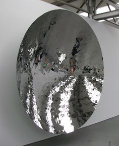Anish Kapoor, Tilburg  I love speaking to it. Best sound effects ever!