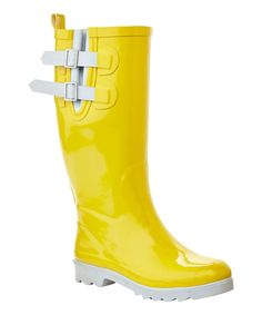 Classic Yellow Rain Boots   Yellow rain boots, Rain boots and Rain