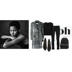 oh my coat! by jofrebcn on Polyvore featuring Equipment, Yves Salomon, rag & bone/JEAN, Robert Clergerie and Moncler