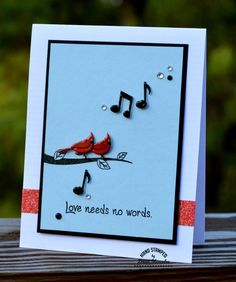 Card making, autism awareness, paper crafts, clear stamps, card idea