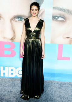 Shailene Woodley attends the premiere of HBO's 'Big Little Lies' at TCL Chinese Theatre on February 7, 2017 in Hollywood, California.