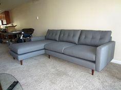 Jessie Sofa Chaise | Furniture Envy