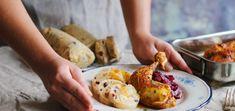Karlovarská knedľa, pečené kura, červená kapusta - Coolinári | food blog