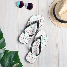 Prepare for an adventurous and carefree summer with a pair of colorful slippers that are created just for you! The rubber sole is lined with a soft fabric to make sure you feel comfortable wherever your day takes you. • Rubber sole • Customizable 100% polyester fabric lining • Black Y-shaped rubber straps • Toe [...] The post Colorful Flip Flops appeared first on Dullaj.com. Us Man, Good Grips, First They Came, New Shoes, 9 And 10, Soft Fabrics, Flip Flops, How Are You Feeling, Just For You