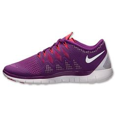 san francisco b4bad f1309 Nike Free 5.0 2014 Femmes Chaussure Running Brillant Raisin Blanc Volts  Ombre Légion Rouge,HOT SALE!