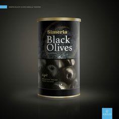 Black Olives Package Design