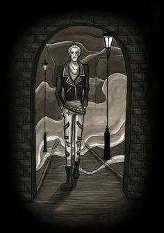 Dark alley by gothiclucy666.deviantart.com on @DeviantArt