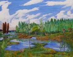 Deer Streams - Art of Walter Idema