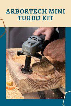 This kit lets you freehand carve, shape and sand a huge variety of projects with the Arbortech Mini Grinder or an ordinary angle grinder using the included extension. The perfect addition to your shop!  #createwithconfidence #arbortech #arbortechminiturbo #arbortechminigrinder #handtools