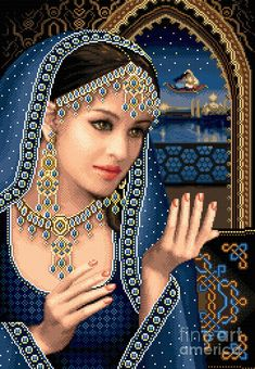 Scheherazade Tapestry - Textile  - Scheherazade Fine Art Print