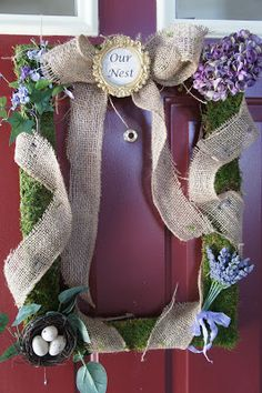 Wreath swag ideas on pinterest wreaths spring wreaths for Home craft expressions decor