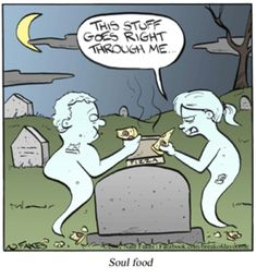 Break of Day by Nate Fakes for December 2012 - Memes World Ghost Cartoon, Funny Ghost, Cartoon Jokes, Funny Cartoons, Funny Comics, Funny Jokes, Ghost Humor, Cartoon Fun, Funny Halloween Jokes