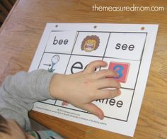 Free long vowel activity -- just print the mats and cards and have your child match them.  9 free mats in this set!