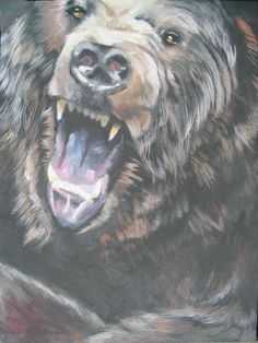 Bear by ~YoungFang on deviantART