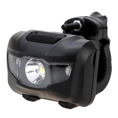 LED Bicycle Light MTB Bike Front Rear ABS Head Taillight Warning Lights Flashlight for Bike Power Supply: Battery Mounting Placement: Frame Model Number: Bicycle Lights Features: 400 maximum lumens output. Powered by 3 * AAA batteries (not included). One 3W LED light and 2 mini red fog lights. One button switch with 4 modes: high white light, low white light, red light and red light flashing. The clamp could rotate 360 degree and adjust by a bolt and rubber washers. Lightweight, compact…