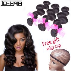 (81.84$)  Know more  - Aliexpress 9A Brazilian virgin hair body wave extension brazilian body wave remy human hair weave bundles TD HAIR Products