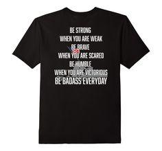 Amazon.com: Be Strong Veterans Shirt - Military Shirt: Clothing