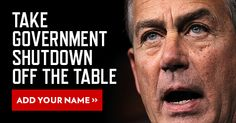 No more Goverment shutdowns!