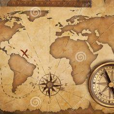my next tattoo will be a map #tattoo #map #pirate #tatuaje #tattoos #treasure #continental #antique ...