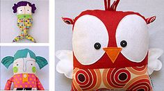 fabric toy art
