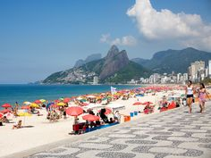 """With the upcoming World Cup and Summer Olympics, Rio de Janeiro is already spiking as a hot travel destination in 2013. And yes, people are still flocking to the beach to encounter someone """"tall and tan and young and lovely"""" 50 years after """"The Girl from Ipanema"""" was released."""