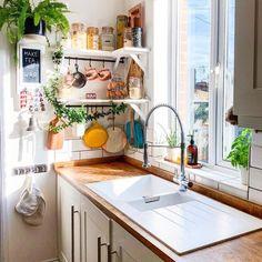 Home Interior Modern .Home Interior Modern Kitchen Interior, Kitchen Design Small, Cozy Kitchen, Kitchen Decor, Home Decor, House Interior, Apartment Decor, Home Kitchens, Kitchen Decor Apartment
