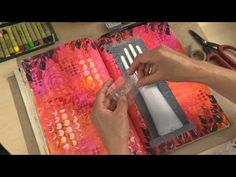 Art Journaling 4 - Personalised Pages - YouTube