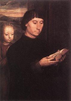 Portrait of a Reading Man - Hans Memling