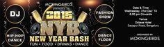 MokingBirds Presents New Year Bash 2015 in Bengaluru on December 31, 2014