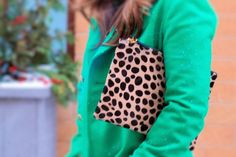 Clare Vivier Leopard Clutch Love on A Lily Love Affair