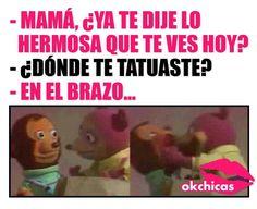 #SorryMom #Mamá #Tatuaje