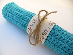 crochet dishcloth pattern.  would make a nice gift.
