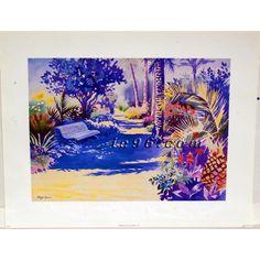 """Art Print By Hazel Soan SC3956 Size (22"""" x 28"""") -- $2.50"""
