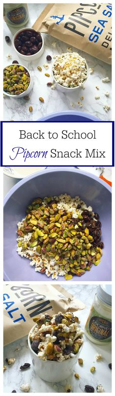 Back to School #Pipcorn Snack Mix - #backtoschool #snack #snackmix