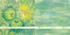 #scrapbooking paper green meadow - polish folk collection by GOscrap