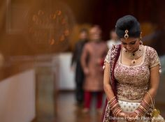 indian wedding first look bride groom photos http://maharaniweddings.com/gallery/photo/11371