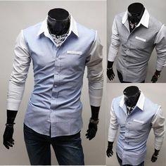 Mens Long Sleeve Shirts Men Business Shirt Design Shirt for Men:- http://shirtup.com.au/shirts
