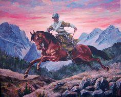 #chechen #art #farukkutlu #painting