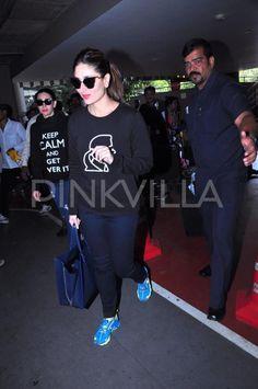 Spotted! Karisma and Kareena at the Airport | PINKVILLA