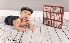 Baby Christmas Holiday Photo     Nicole Christine Photography