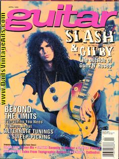 1995 April Guitar for the Practicing Musician Magazine Back-Issue
