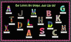 Back To School Bulletin Board Idea- a nice ice breaker on the first day!
