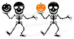 Skeleton SVG - Halloween SVG - Skeleton Pumpkin SVG - Digital Cutting File - Cricut Cut - Instant Download - Svg, Dxf, Jpg, Eps, Png by cardsandstitches on Etsy