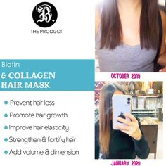 Once you feel the #results you'll never look for another #hairmask again.